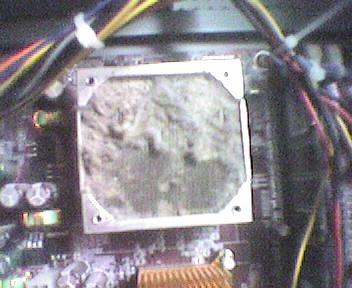 Dusty Dissipator