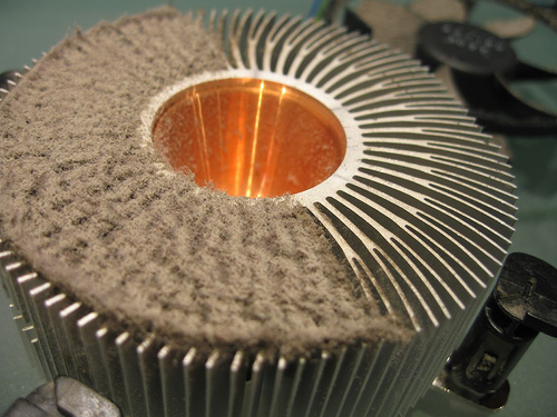 CPU Cooler Heatsink vs Dust