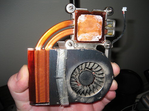 Heat Sink/Fan for Crappy Laptop