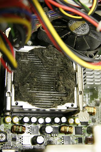Dusty Computer fan