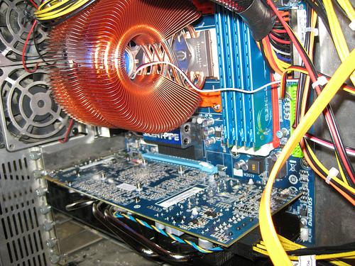 Heatsink & Radeon w/ flash