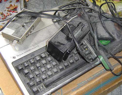 Obsolete, forlorn, forgotten (Texas Instruments  99/4A)