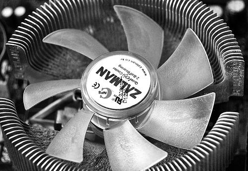 Zalman Heat Sink Fan
