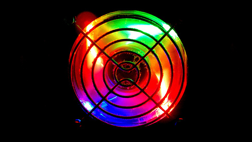 Colored Fan Cooler