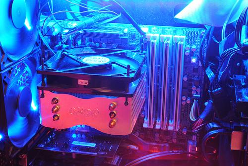 Computer Close up