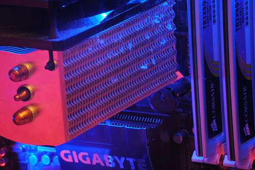 CPU cooler and Memory