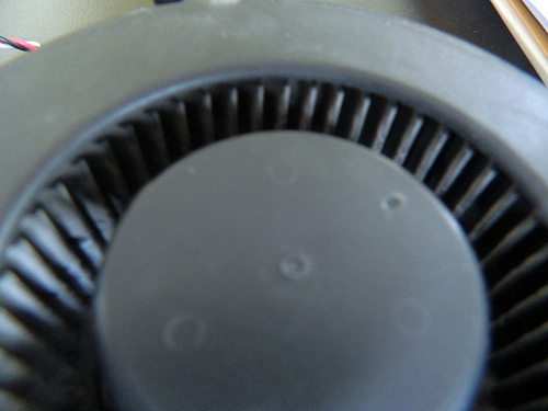 """Computer fan (dirty->clean)"""">    </p> <p>                              a fan for the PC drive, it's an old one because it's worn out, but it's used for powering up the computer screen, if it propels slow or fast, but blue screens make some of these fans propel really fast ya know.   </p> <p><a href="""
