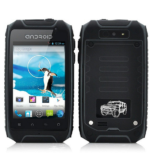 Ruggedized Military Themed 3.5 Inch Android Phone
