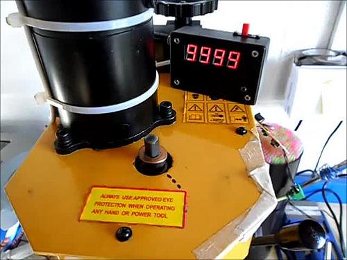 Milling Machine Tachometer Mark II