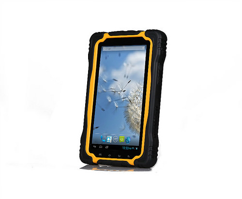 waterproof tablet T70 IP67 MTK6577 Dual core Android 4.1 3G WCDMA 7