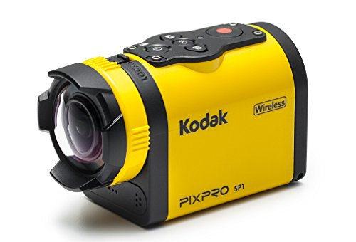 Kodak SP1 with Explorer Pack Water/Shock/Freeze/Dust Proof FHD 1080p Digital Action Camera (Yellow)