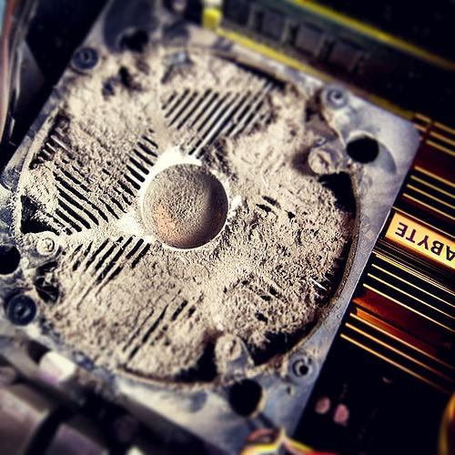 #cooler #computer #dust #Gigabyte #cpu
