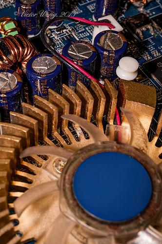 Heat sink and fan