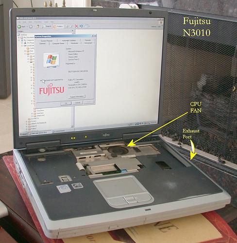Fujitsu Lifebbok N3010