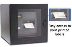 Bar Code Printer Enclosure, ITS Enclosures