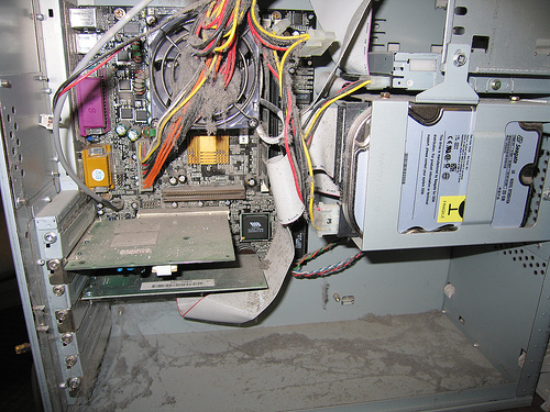Your computer should never be this dusty.