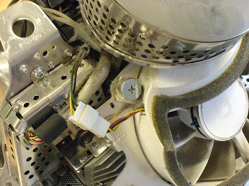 Inside an eMac