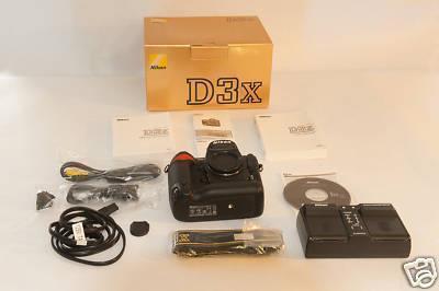 PROMO. NIKON D3X Body – Camera SLR – Rp 19,900,000