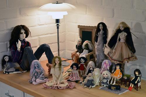 My doll family February 2015*