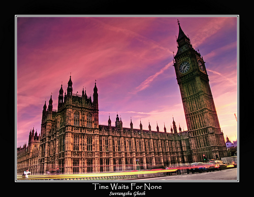 Time Waits For None, Big Ben, London : II :: HDR