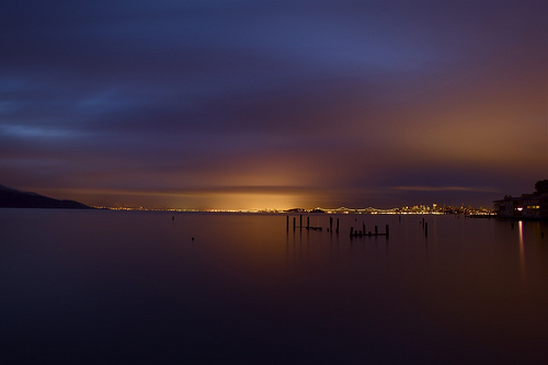 Moods of LIght #2 of 3 - Sausalito, Ca