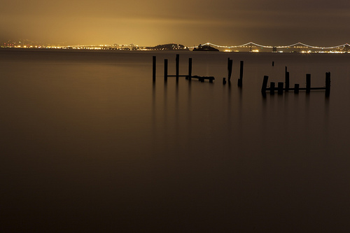 Moods of LIght #1 of 3 - Sausalito, Ca
