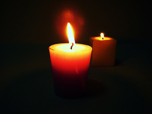 An Offering of Lighted Poetic Candles for Steve Page