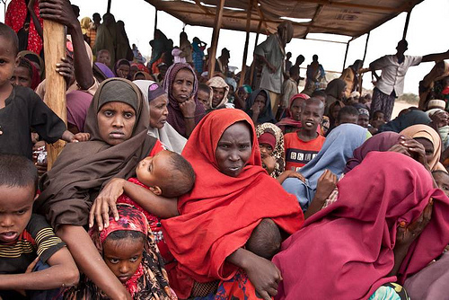 UNHCR News Story: Drought and displacement in Somalia: Fleeing from dust and starvation