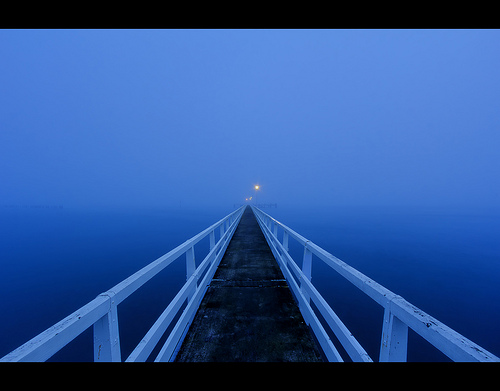 The Okahu Pier - Winter Blues part 2