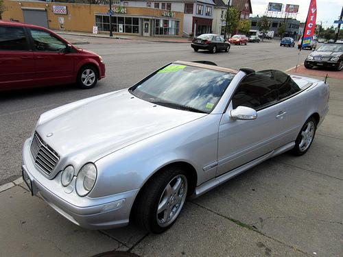 2002 Mercedes-Benz CLK-Class AMG