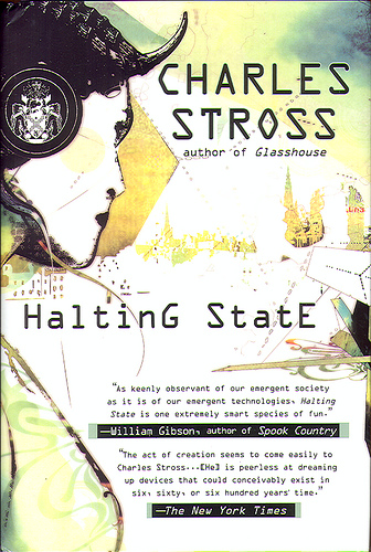 Stross, Charles - Halting State (2007 BCE HB)
