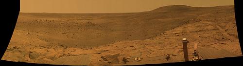 Mars, Spirit after global dust storm
