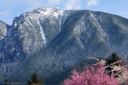Mt. Si in Spring