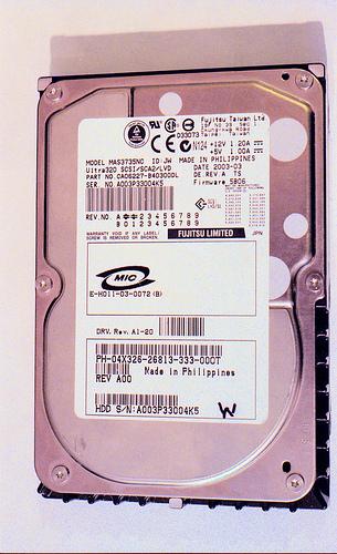 Fujitsu 73 Gb drive