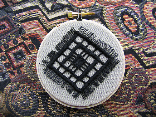 Small Cut Work Embroidery 1 of 2