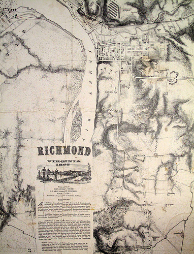 1865 SOUTHEASTERN RICHMOND, ROCKETTS & OAKLAND