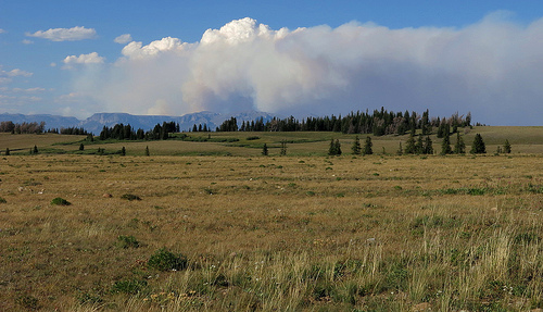 Fire in the Absaroka....too