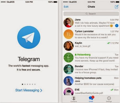10 ứng dụng nhắn tin siêu bảo mật cho smartphone