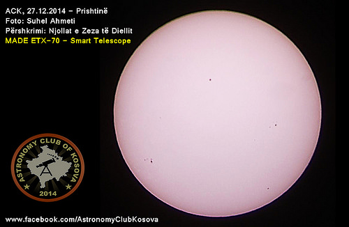 Njollat e Diellit - Black Sunspots