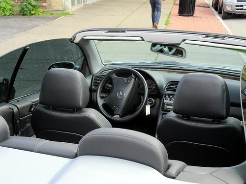Interior of 2002 Mercedes-Benz CLK-Class AMG