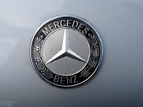 Hood Medallion of Mercedes-Benz CLK-Class AMG