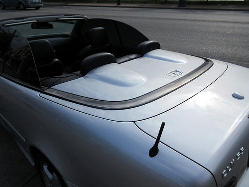 Top of 2002 Mercedes-Benz CLK-Class AMG
