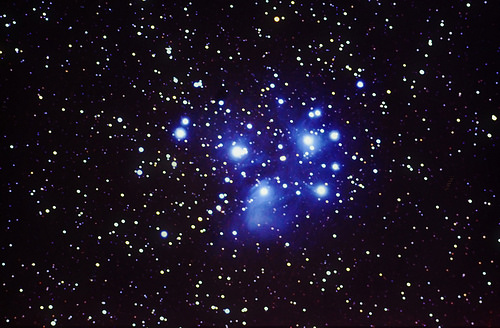M45 The Pleiades - 08-02-2015 - 30x120s - Equinox 66 - Nikon D3100 - SmartEQ CC2014 GB NR