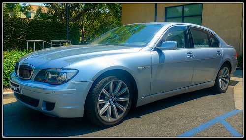Hydrogen-Powered BMW Series 7 Sedan (HDR) (Day 47/365)