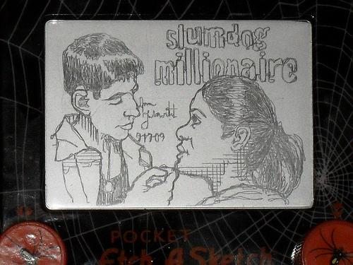 Slumdog Millionaire etchasketch