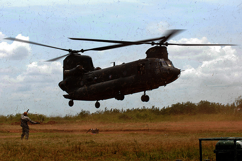 Fuel for flights - Natural Fire 10 - US Army Africa - 091011