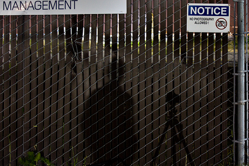 Take Your Photos Here! F**k Management!