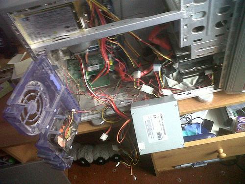The joys of home computing