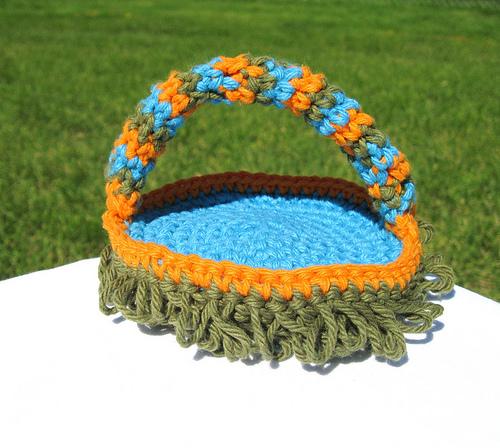 Crocheted Keyboard Duster