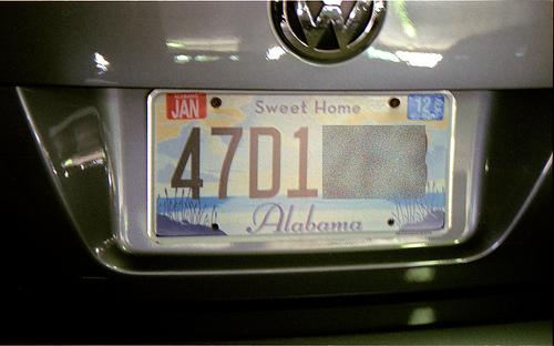 Alabama plate 6-11